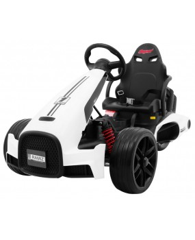 Elektrická motokára Bolid XR-1 biela